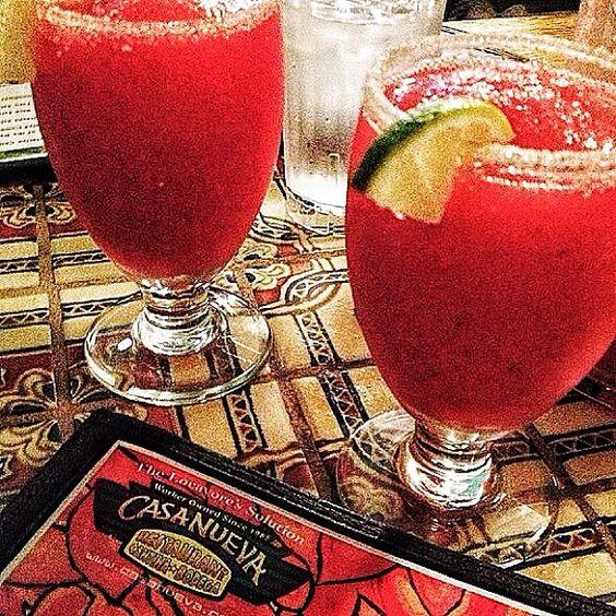 Margaritas from Casa Nueva!