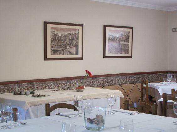 Detalle de #Restaurante #Migal. #Hotel #Migal. #Cue. #Llanes. #Asturias. #Espana.