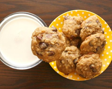Banana Chocolate Chip Cookies | Recipe ideas | Pinterest | Chocolate ...