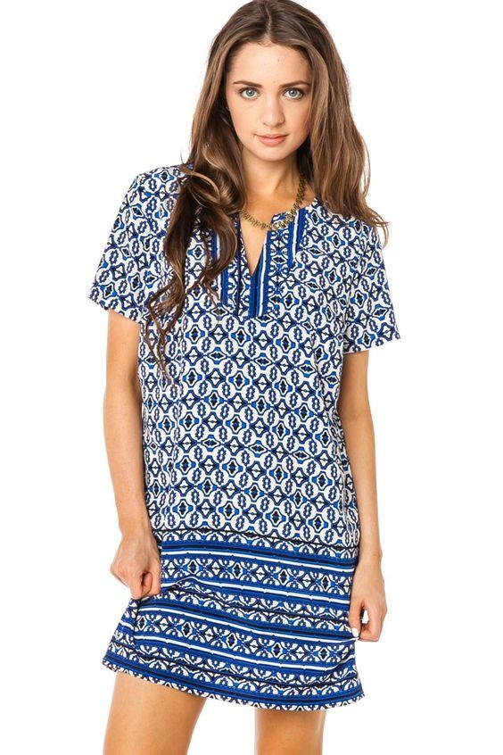 ShopSosie Style : Morrocan Affair Shift Dress