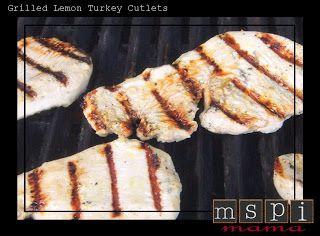 Lemon turkey cutlets