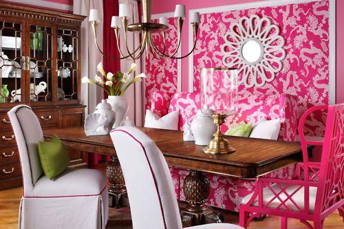 dream dining room/sun room!