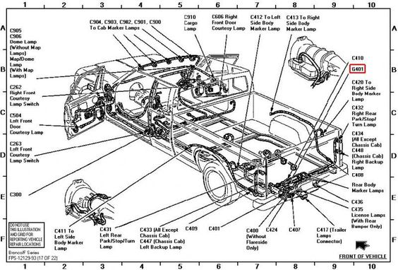 tail light wiring diagram 95 ford f350  ford  auto parts
