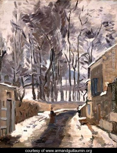 Landscape of Louveciennes - Armand Guillaumin - www.armandguillaumin.org