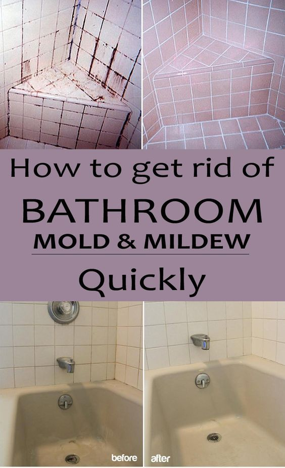 How To Get Rid Of Bathroom Mold And Mildew Quickly Cleaningtutorials Net Your Cleaning Solutions Mold In Bathroom Mold And Mildew House Cleaning Tips