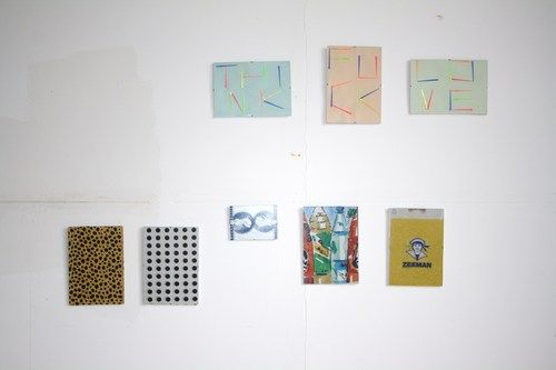 Works by Gaby Bila Günther (aka Lady Gaby). Open Studios at FUNKHAUS Nalepastrasse.(Spring 2014) #openstudios #funkhaus #berlin #Oberschoeneweide #Oberschöneweide #schöneweide #GabyBilaGünther #LadyGaby