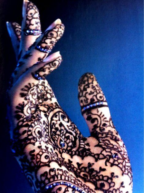 henna........how exotic!