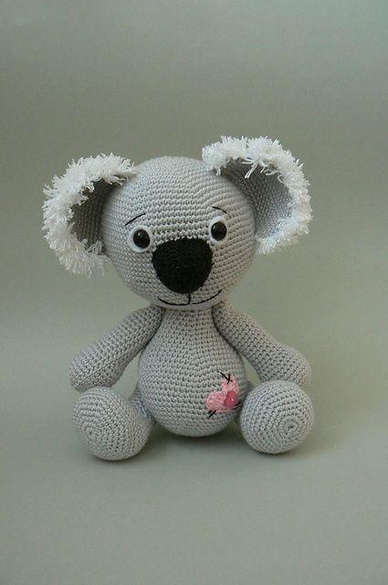 Ravelry: Koala Bear crochet pattern pattern by Katka Reznickova.