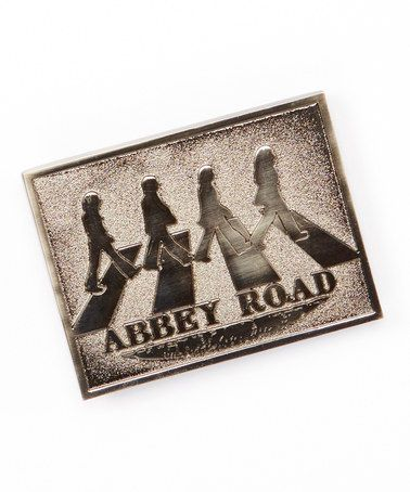 The Beatles 'Abbey Road' Belt Buckle by The Beatles #zulily #zulilyfinds