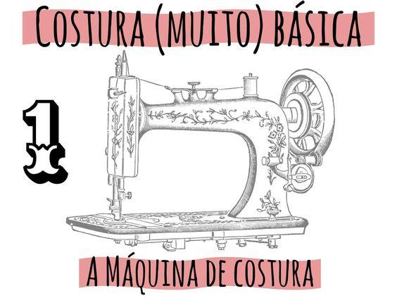 Vamos começar do básico: conhecendo a máquina de costura, mas sem muita firula. Para ilustrar, vou usar a minha máquina, que é uma Janome modelo 2008.Obviamente a melhor coisa a fazer é ler o manu…