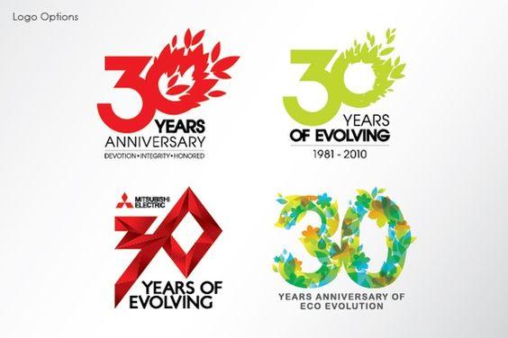 anniversary logo design inspiration google search a d branding packaging design