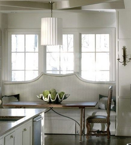 Kitchens With Built In Banquettes Built In Upholstered