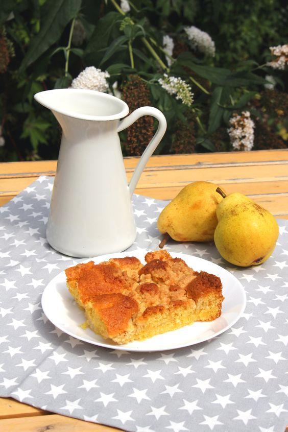 Birnen kuchen blog