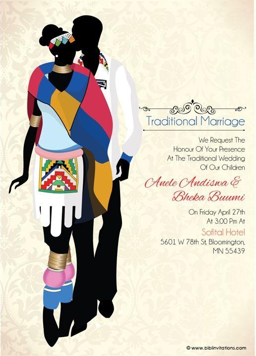 Nigerian Traditional wedding invitation Card – Traditional Wedding Invitation Cards Designs