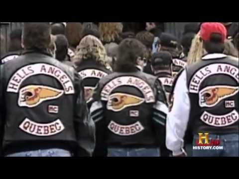 documentary - gangs - Hells Angels - Montreal, Canada.