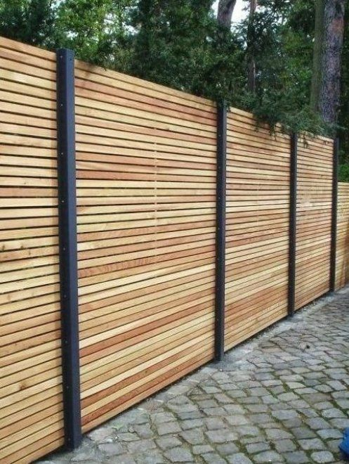 Holz Sichtschut Holz Sichtschut Sichtschutz In 2020 Gartendekoration Sichtschutz Garten Garten Terrasse