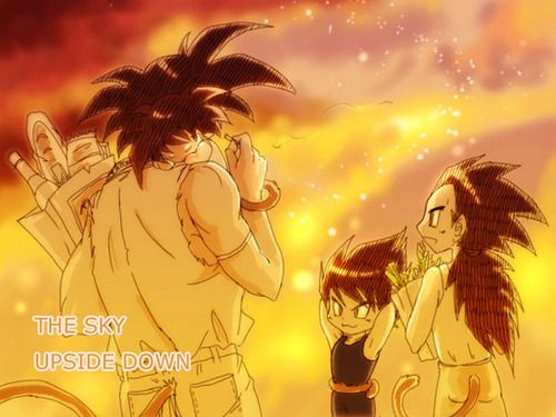 DBZ Bardock, baby goku, Raditz and Vegeta | Dragon Ball Z ...