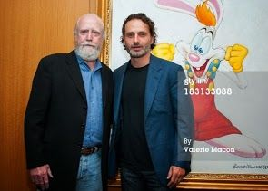 SCOTT WILSON AND ANDY LINCOLN