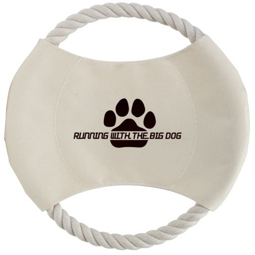 Toss N Chew Doggy Rope Disk In 2020 Dog Show Big Dogs Promo Gifts
