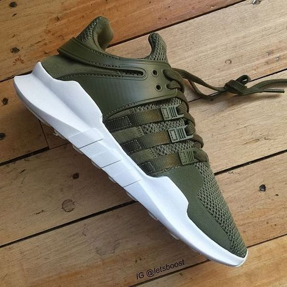 First look at the adidas EQT ADV Green  by @letsboost #thesolesupplier