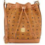 MCM Heritage Visetos Drawstring Bag
