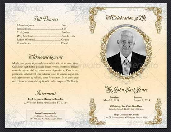 8 Hindu Funeral Invitation Template Funeral Program Template Free Funeral Programs Funeral Program Template