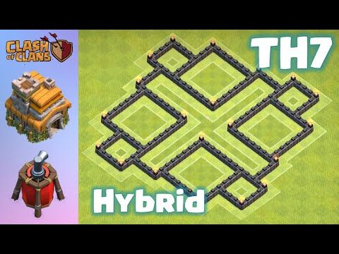clash of clans th7 base speed build