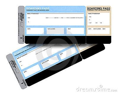 boarding pass sleeve template - ticket free stock image and free printable on pinterest