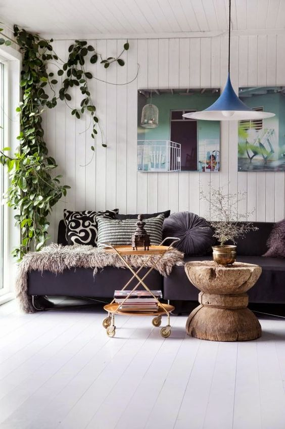 In The Corner The Plant And Love This On Pinterest