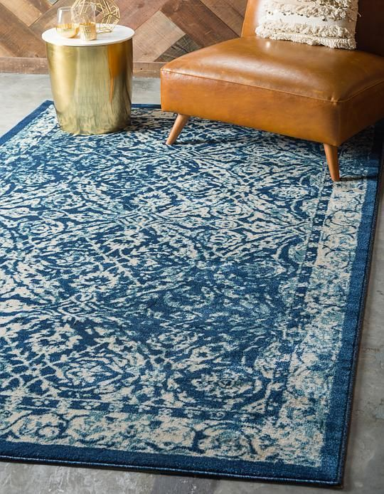 Navy Blue Stockholm Area Rug Traditional Area Rugs Blue Area Rugs Area Rugs