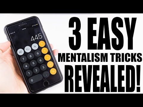 3 Even More Easy Mentalism Tricks To Fool Anyone Magic Tricks Revealed Youtube Magic Tricks Revealed The Fool Magic Tricks