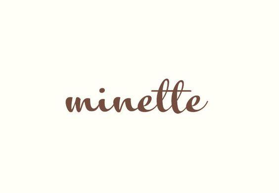 Minette wordmark