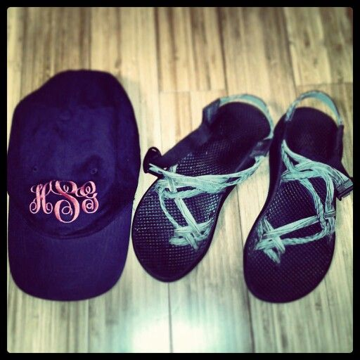 Chacos and monograms, every southern girl's pride