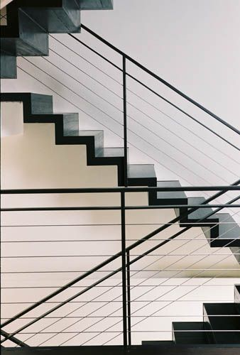 Railings For Stairs Cable Stair Railings What To