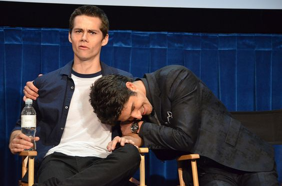 This is just great. - Dylan O'Brien & Tyler Posey