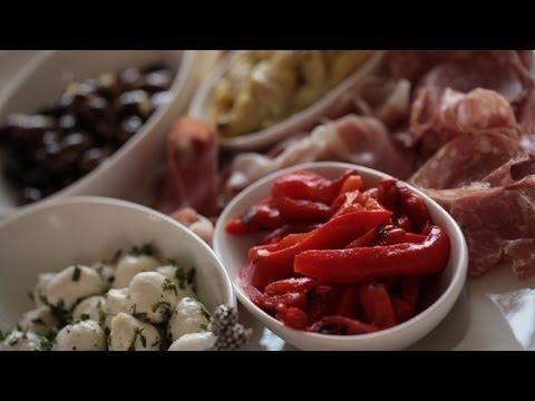 Antipasto Platter: A Ruggiero family favorite.