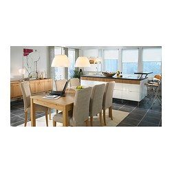 Ikea and tables on pinterest for Table extensible ikea bjursta
