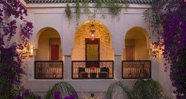 Moroccan garden & balcony