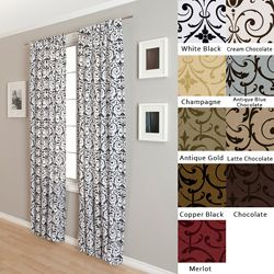 I have a clear idea of what I want for the office now, and this curtain will help tie it all together!