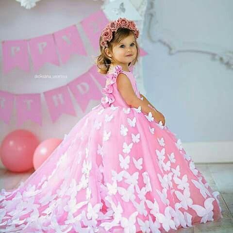 Hermoso Vestidos De Niña Elegantes Vestido Para Niñas