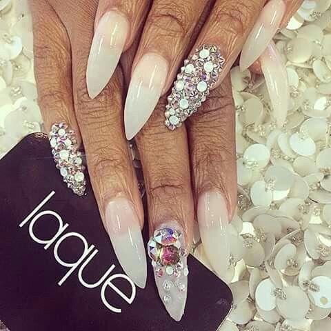 Image via We Heart It #nails #laque
