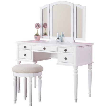 I've always wanted a vanity and this is just perfect! (St. Croix - $230)