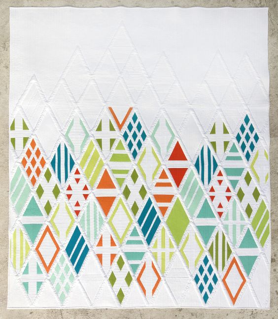 Eidos Quilt Pattern $10 on shop.themodernquiltguild.com