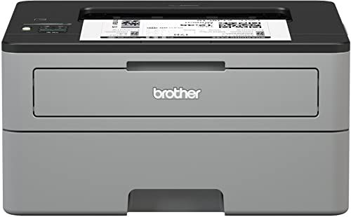New Brother Compact Monochrome Laser Printer Hl L2350dw Wireless Printing Duplex Two Sided Printing Amazon Dash Replenishment Enabled Online Shopping In 2020 With Images Laser Printer
