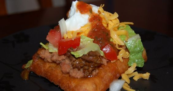I have never had a Navajo Taco but have always wanted to try one. I decided to alter my Scone (Elephant Ears) Recipe  slightly to make a l...