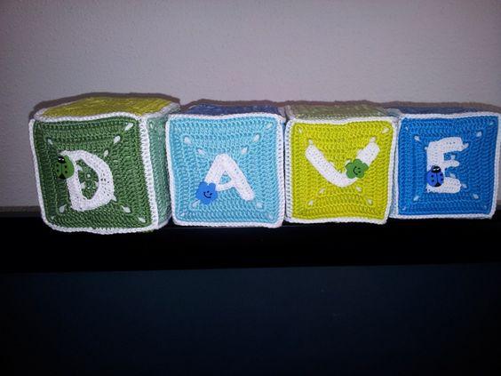 Kubus voor mijn kleinzoon Dave, voor op zijn kamertje