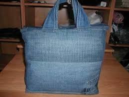 """Résultat de recherche d'images pour """"transformer un jeans en sac"""""""