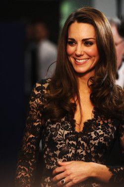 : Black Lace, Duchess Of Cambridge, Royal Family, Kate Middleton, Princess Kate
