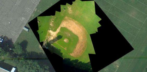 Aerial Photo using balloon