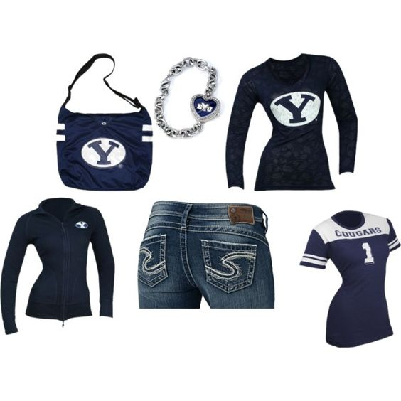"""BYU FOOTBALL READY!"" by shonda-waldrop-trussell on Polyvore"